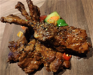 Foto  Lamb Chops black pepper (4 or 6 pcs)
